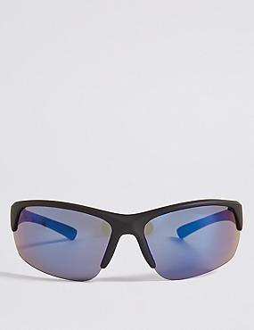 Half Rim Sport Sunglasses, , catlanding