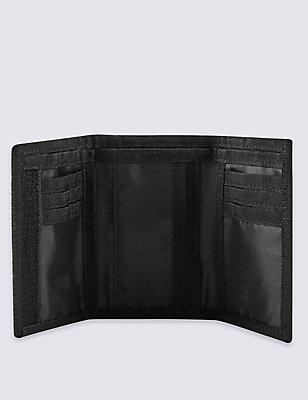 Riptape Trifold Wallet, BLACK, catlanding