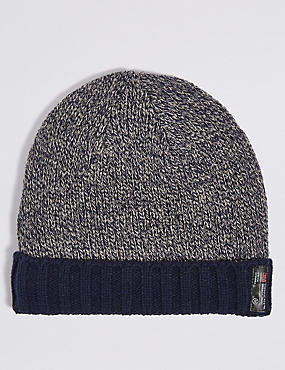 Thinsulate™ Beanie Hat, NAVY MIX, catlanding