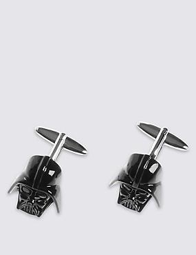 Star Wars™ Darth Vader Cufflinks, BLACK, catlanding