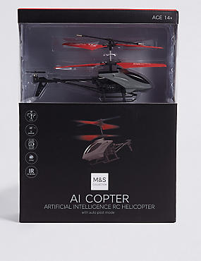 Remote Control AI Helicopter, , catlanding