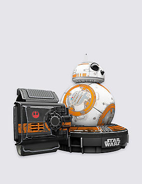 Special Edition Star Wars™ BB-8™ &  Force Band™ Bundle, WHITE MIX, catlanding