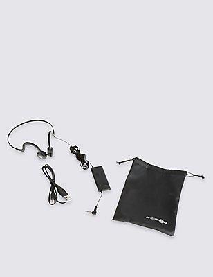 Sportz Titanium Headphones, ONYX, catlanding