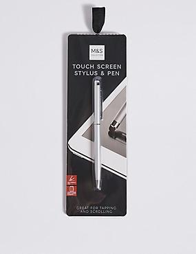 Stylus Pen, WHITE, catlanding