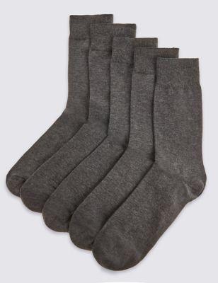 Носки с усиленным мыском (5 пар)