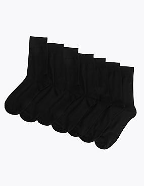 7 Pairs of Socks, NAVY, catlanding
