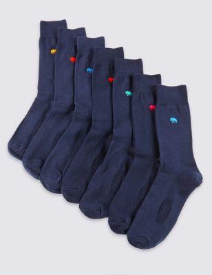 Мягкие хлопковые носки с мотивом