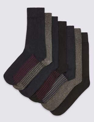 Хлопковые носки Freshfeet™ с принтом
