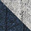 Lot de 2paires de chaussettes chauffantes en laine à motif brodé, BLEU MARINE/GRIS, swatch