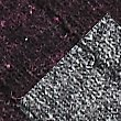 2 Pairs of Thermal Wool Embroidered Socks, PLUM MIX, swatch