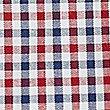 Hemd aus reiner Baumwolle in maßgeschneiderter Passform, bügelleicht, ROT MELANGE, swatch
