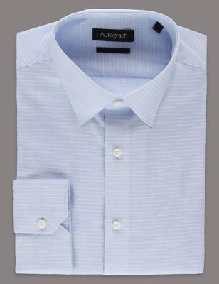 Рубашка с длинным рукавом из чистого хлопка