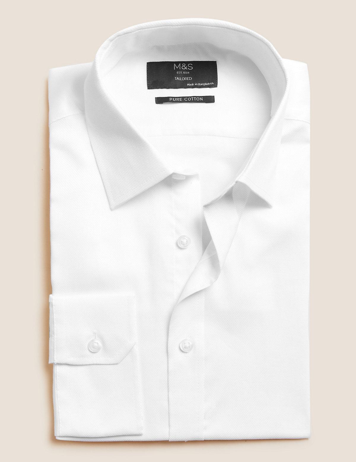 Рубашка мужская с технологией Easy to Iron и длинным рукавом