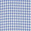 Pure Cotton Puppytooth Check Easy to Iron Shirt, NAVY MIX, swatch