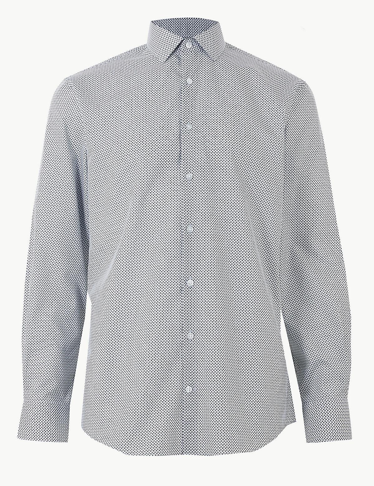 Рубашка мужская Easy Care с добавлением хлопка