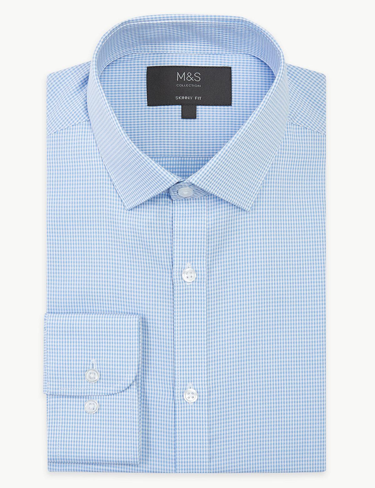 Текстурированная рубашка в клетку