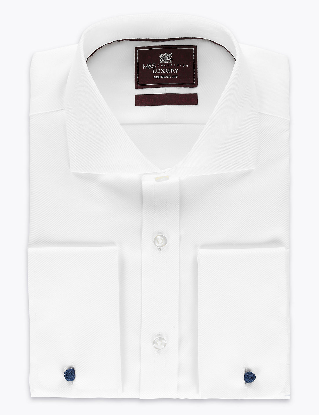 Pure Cotton Non-Iron Regular Fit Shirt | M&S
