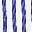 Pure Cotton Tailored Fit Striped Shirt, DARK NAVY MIX, swatch