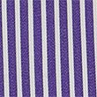 Pure Cotton Striped Shirt, PURPLE, swatch
