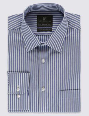 Рубашка Easy to Iron в широкую полоску