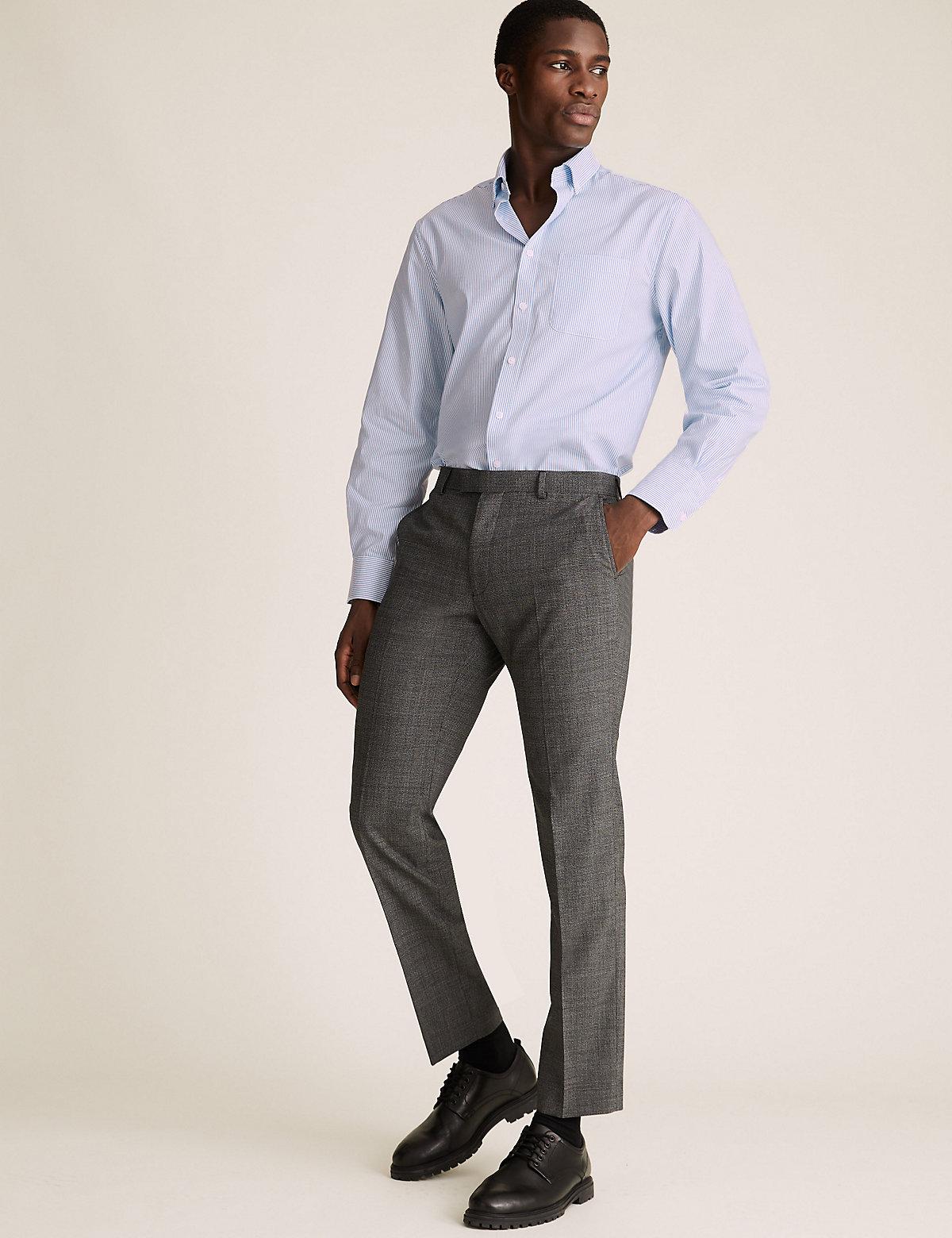 Хлопковые рубашки Oxford стандартного кроя (2 шт)