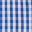 Pure Cotton Easy to Iron Regular Fit Shirt, BLUE MIX, swatch