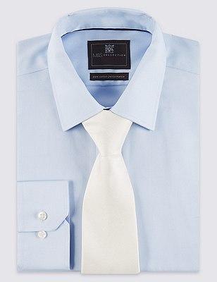 Pure Silk Tie, IVORY, catlanding