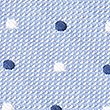 Pure Silk Multi Spotted Pocket Square, CORNFLOWER, swatch