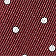 Pure Silk Spotted Pocket Square, BURGUNDY MIX, swatch