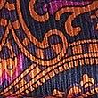 Pure Silk Printed Pocket Square, ORANGE MIX, swatch