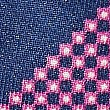 Pure Silk Printed Pocket Square, MAGENTA, swatch