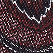 Pure Silk Printed Pocket Square , BURGUNDY MIX, swatch