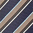 Textured Stripe Tie, BEIGE MIX, swatch