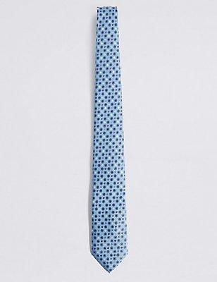 Krawatte mit bunten Punkten, HIMMELBLAU, catlanding