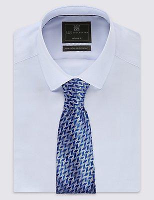 Textured Tie, BLUE MIX, catlanding