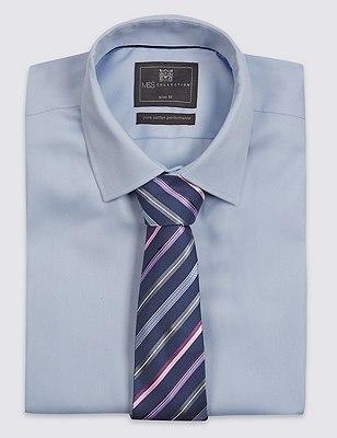 Striped Tie, PINK MIX, catlanding