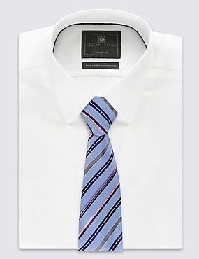 Striped Tie, BLUE MIX, catlanding
