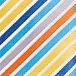 Satin Striped Tie, YELLOW MIX, swatch