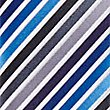 Satin Striped Tie, PERIWINKLE, swatch