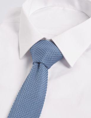 Суперстильный галстук мелкой вязки