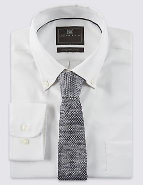 Knitted Tie, GREY MIX, catlanding