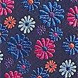 Corbata con estampado floral, MEZCLA DE TONOS ROSAS, swatch