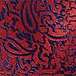 Pure Silk Paisley Print Tie, RED MIX, swatch