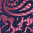 Pure Silk Paisley Textured Tie, FUCHSIA MIX, swatch