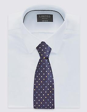 Lot de deux cravates à pois et rayures, OR ASSORTI, catlanding