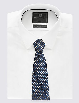2 Pack Spotted & Striped Ties, BLUE/YELLOW, catlanding
