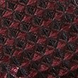 Pure Silk Waffle Textured Bow Tie, BURGUNDY, swatch