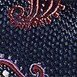 Pure Silk Paisley Print Tie, MAGENTA, swatch