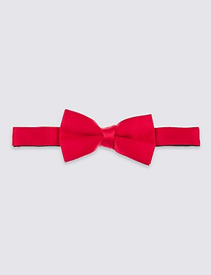 Pocket Bow Tie, RED/BLACK, catlanding