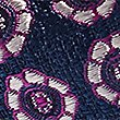 Pure Silk Textured Bow Tie, BLUE, swatch